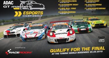RaceRoom ADAC GT Masters Esports Championship startet heute: Großes Finale auf der Tuning World Bodensee