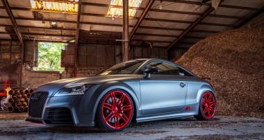 """Power braucht Fahrspaß: KW Variante 3 im Audi TT RS plus """"vom Auto-Weber"""""""