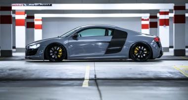 Super Facelift und KW-Performance-Stance am Audi R8