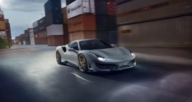 0 – 100 km/h in 2,7 sec und  345 km/h Spitze: der Ferrari 488 Pista von Novitec