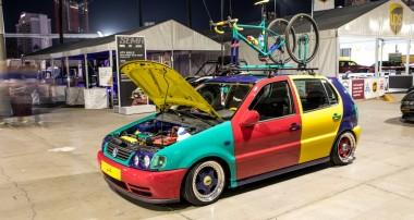 Held der Neunziger Teil 2: Jamie Orrs VW Polo Harlekin
