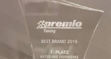 """Die Marken KW und ST suspensions gewinnen """"Best Brand""""-Awards"""