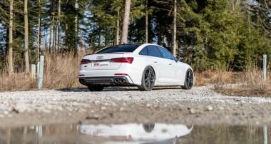 In der Höhe individuell einstellbare KW Federn für Audi S6 (C8, Typ F2)