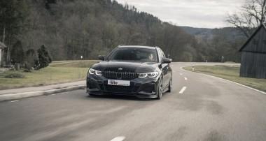 Jetzt für alle neuen BMW 3er (G21) Touring mit xDrive erhältlich: Die KW Gewindefahrwerke Variante 1, Variante 2 und Variante 3