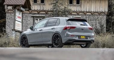 ST führt Gewindefahrwerke und Gewindefedern für VW Golf 8 ein