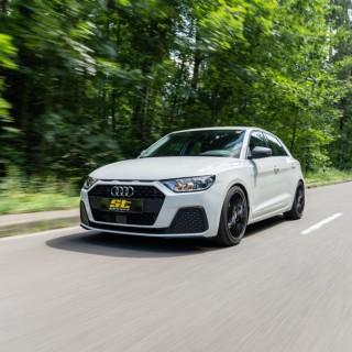 ST Gewindefedern werten das Audi A1 Serienfahrwerk zum Gewindefahrwerk auf