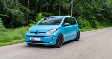 KW Gewindefahrwerke sind auch für Elektromodelle wie dem VW e-up! lieferbar