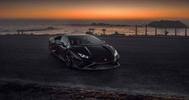 Schwarz. Stark. Evo. KW Solid Piston Technology für Lamborghini Huracán Evo RWD