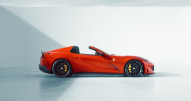 Fahrwerk-Komponenten für Ferrari 812 GTS entwickelt