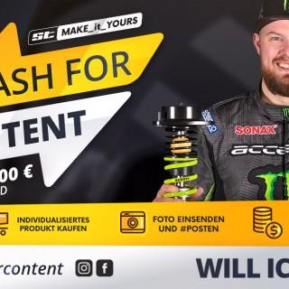 Läuft an, der interaktive ST Cash Back mit der 7.500 Euro Gewinnchance*!