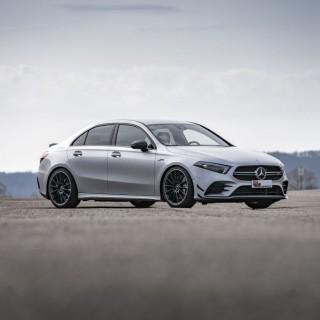 AMG Black Series Engineering für Mercedes-AMG A 35 4MATIC (V177) & Co: KW Fahrdynamikupgrade für alle Mercedes-A-Klasse-Limousinen