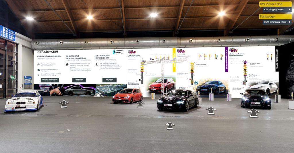 """#virtualexpotwb – Im Rahmen des virtuellen Tuning World Shopping Events veranstalten wir bei KW automotive die """"Virtual Tuning World Bodensee"""""""