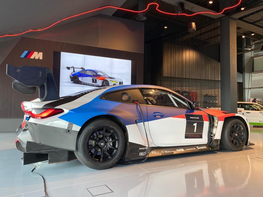 Official BMW Motorsport Supplier BMW M4 GT3 (2022): Vorstellung des neuen BMW GT3 Rennwagens beim 24h-Rennen Nürburgring 2021