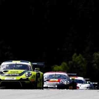 ADAC GT Masters: Porsche und SSR Performance bauen Tabellenführung in der GT Master 2021 weiter aus