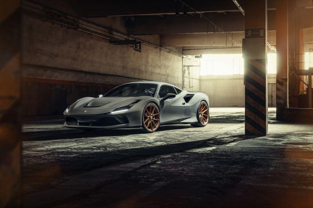 Auch beim Ferrari F8 Tributo setzt Novitec aufs KW Fahrwerk Engineering