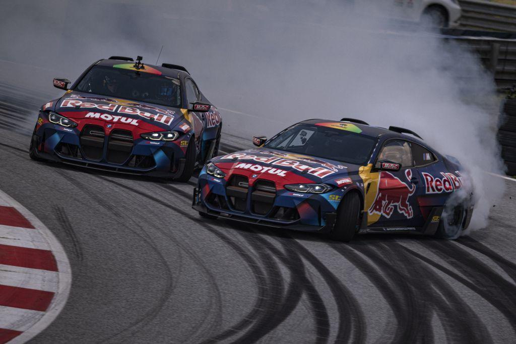Offiziell: die Red Bull Driftbrothers starten mit zwei 1.050 PS starken BMW M4 Competition (G82)!