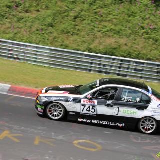NLS: Team Derscheid wird Vierter im vierten Rennen