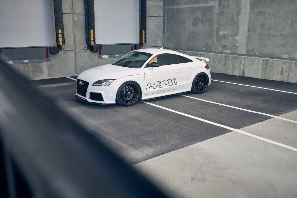 Immer eine Überlegung wert: das KW Gewindefahrwerk Variante 3 für den Audi TT RS